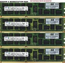 16GB (4 x 4GB) HP DL360 DL380 ML350 DL160 BL460 G6 G7 PC3-10600R DDR3 MEMORY