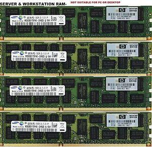 32GB ( 8 x 4GB) DELL T410 T610 T620 T710 R610 R710 R410 PC3-10600R DDR3 MEMORY