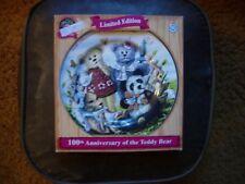 The Teddy Bear Plate Limited Edition 100th Anniversary Of The Teddy Bear