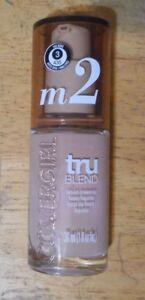 1 bottle CoverGirl TruBlend Liquid Makeup M2 MEDIUM LIGHT unsealed