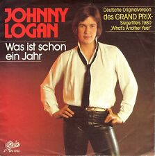 "7"" Johnny Logan – Was ist …= What's Another Year = German Version - ESC // 1983"