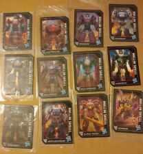 Transformers Titans Return Card lot of 12 Headmasters Galvatron Gnaw Overlord