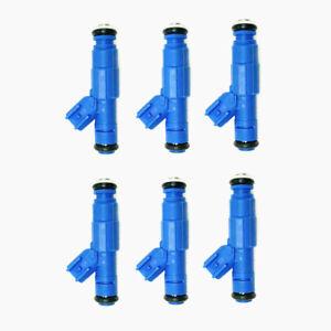 6 x OE Fuel Injectors For 2005 2006 Jeep Wrangler TJ 4.0L53013690AA FJ735