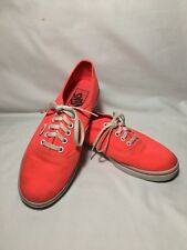 New ListingVANS Neon Hot Pink Skateboard Shoes Low Top Lace Up Sneakers  Womens 7.5 Mens 6 971eee139