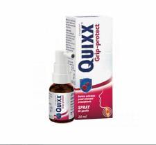 QUIXX GRIP PROTECT spray do gardła chrypka ból gardła