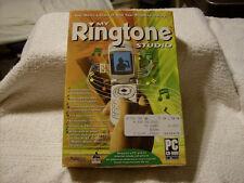 My Ringtone Studio PC CD music library custom audio files voices edit remix MP3