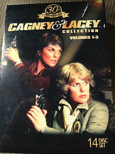 CAGNEY & LACEY: The 30th Anniversary Collection, Vol. 1-3 [14 DVDs, 2012] - NEW!