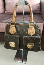 SAC A MAIN LOUIS VUITTON MANHATTAN PM CABAS TOILE MONOGRAM LV HAND BAG