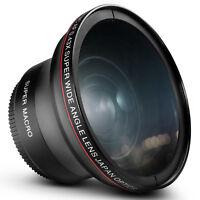 52MM Altura Photo 0.43x Wide Angle Macro Lens for Nikon D7100 D5300 D3300 D3200