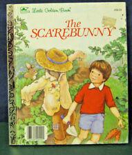 """Golden Book """"THE SCAREBUNNY"""" - """"A"""" ed. -1985 - (INSTANT 20% OFF)"""
