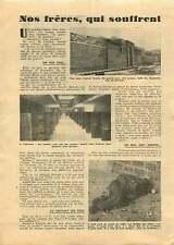 Centre de détention d'Eysses la Prison des Baumettes Marseille 1951 ILLUSTRATION