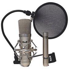 CAD Audio GXL2200 Studio Pack 2-Condenser Mic + Pop Filter
