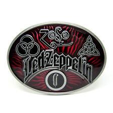 Led Zeppelin Zoso Music Belt Buckle Mens Girls Vintage Western Rock Grim Reaper