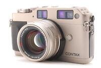 【N MINT+++】Contax G1 Rangefinder Film Camera w/ 45mm f/2 Lens From JAPAN