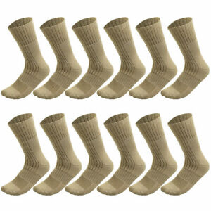 4/12 PK Military Boot Socks Combat Tactical Trekking Hiking Out Door Activities