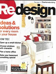 Redesign Magazine Home Office Small Kitchen Windows Basement Solutions Ideas