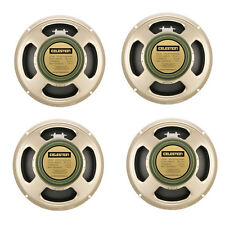 Descuento x4 Pack CELESTION G12M 25w Greenback guitarra altavoces 16ohm