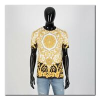 VERSACE 775$ Authentic New SS19 Barocco Print Tshirt