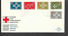 NETHERLANDS 1967 FIRST DAY COVER SEMI-POSTAL CENTENARY OF THE DUTCH RED CROSS