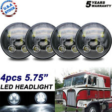 "4x 5-3/4 5.75"" H5001 LED Projector Headlight For Peterbilt 348 357 359 378 379"