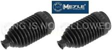 VW GOLF JETTA MK2 MEYLE 2 X NEW STEERING RACK BOOTS GERMANY BEST QUALITY 84 -92