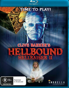 Hellraiser II - Hellbound - New and Sealed BluRay