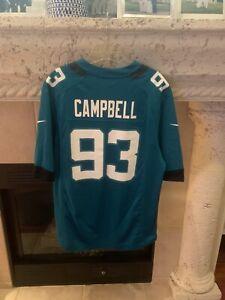 Men's Nike Campbell Teal Jacksonville Jaguars On The Field Jersey Size L