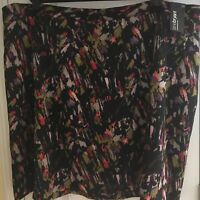 Lane Bryant Women's Dressy Casual Career Abstract Print Skirt Plus Size 28 NWT