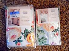 Martha Stewart Floral Curtains Drapes Valances For Sale Ebay