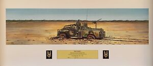 """*SALE* """"Recovery"""" by Ian Coate. SASR Print series. Signed Ltd Edition 59/150"""
