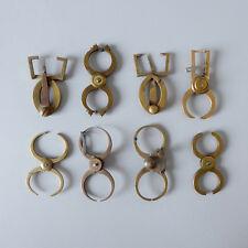 Konvolut Rundlaufzirkel 8 Stück altes Uhrmacherwerkzeug Werkzeug