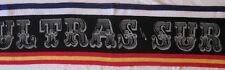 Bufanda Sciarpa Scarf Ultras Real Madrid ULTRAS SUR 1980 Años 80 Tipo Lana