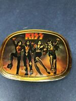 KISS DESTROYER ~ORIGINAL BELT BUCKLE 1976 PACIFICA MFG.