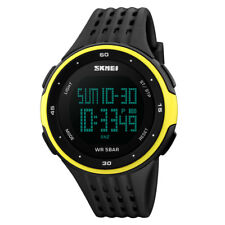 SKMEI Luxury Men's Smart Watch Bluetooth Digital Sports Wrist Watch Waterproof