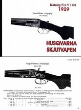 Husqvarna (Sweden) 1929 Guns Catalog