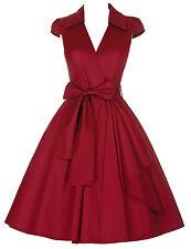 50er Jahre Vintage Petticoat Swing Gothic Pinup Abendkleid Ballkleid Partei