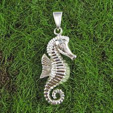 Ostheimer-Schmuck, Silber Anhänger Seepferd glanz 925 Sterling Silber