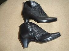 Black leader ankle boots from Gabor size 5