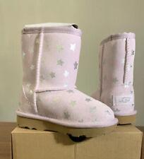 UGG Australia Toddler Girl Lilac Classic Short II Stars Boots Sz 12, BRAND NEW