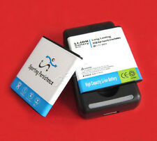 Sporting 2850mAh battery+Travel Home Charger For HTC myTouch 4G Slide T-Mobile