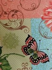 3 Mtrs Yellow Butterfly Print 100/% Cotton Fabric 114cm Wide,