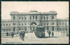 Roma Città Palazzo di Giustizia Tram cartolina QT2068