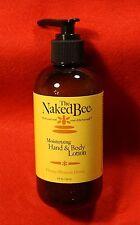 Naked Bee 1-8 oz pump bottle Moisturizing Hand Lotion in Orange Blossom Honey