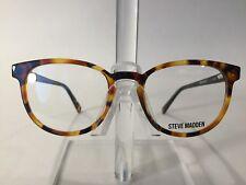 296f342b0b Steve Madden Eccentrk Round Unisex Plastic Eyeglass Frame Tortoise - NEW!