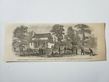 General William Tecumseh Sherman Hq Decatur Georgia 1864 Civil War Sketch Print