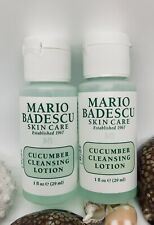 2 x Mario Badescu Skin Care CUCUMBER CLEANSING LOTION - 1 oz Each