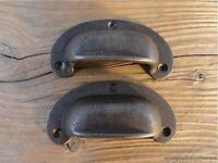 """Large Vintage Cast Iron Keyhole Escutcheon Art Deco Hardware Antique /""""J.F/&Co/"""""""