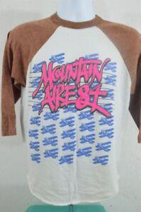 VTG 1984 80s Mountain Aire Festival Concert REM The Cars Jersey T SHIRT LARGE