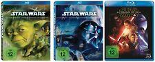 Star Wars Episode 1+2+3+4+5+6+7 / Complete Saga # 8-BLU-RAY-SET-NEU