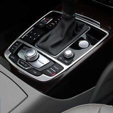 Für Audi A6 A7 Edelstahl Zierblende für Mittelkonsole Blende Rahmen Automatik